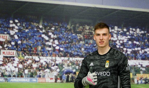 Андрей Лунин, Real Oviedo