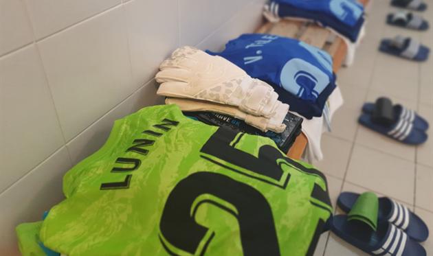 Фото из раздевалки Овьедо, Real Oviedo