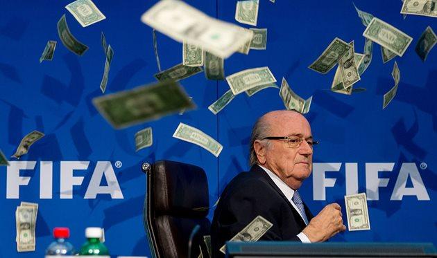ФИФА, ДЕНЬГИ И БЛАТТЕР, ФОТО GETTY IMAGES