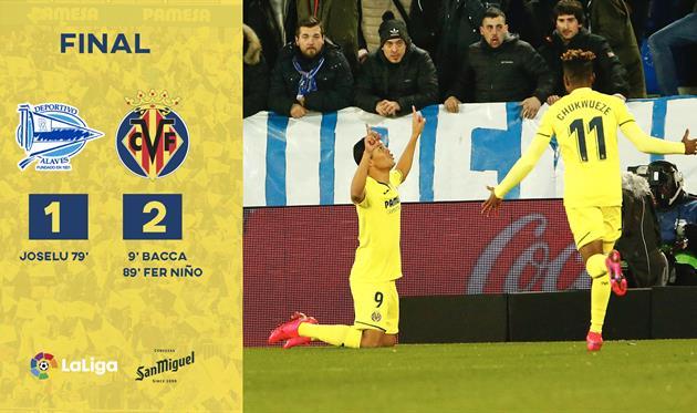 Алавес - Вильярреал, twitter.com/VillarrealCF