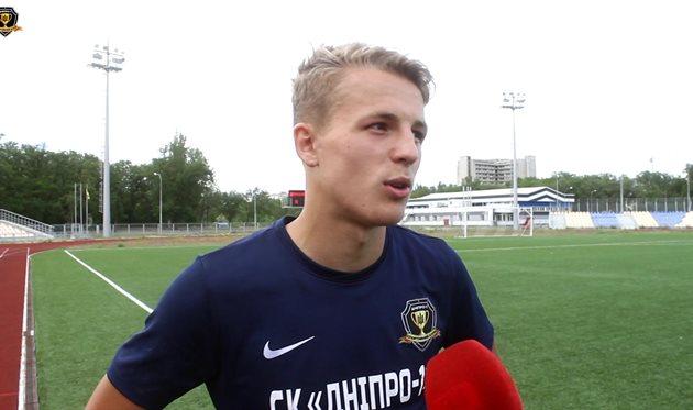 Александр Сафронов, СК Днепр-1