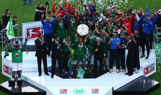 Вольфсбург - чемпион Германии-2009, Getty Images
