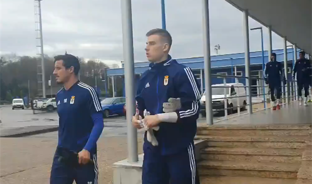 Андрей Лунин, фото ФК Овьедо