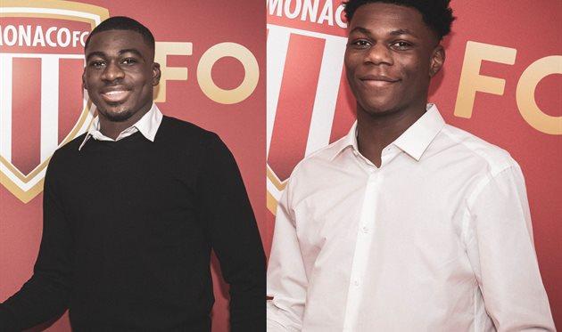 Юссуф Фофана и Орельян Тчуамени, Football.ua/AS Monaco