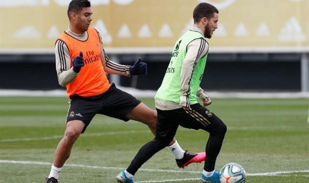Каземиро и Эден Азар, ФК Реал Мадрид