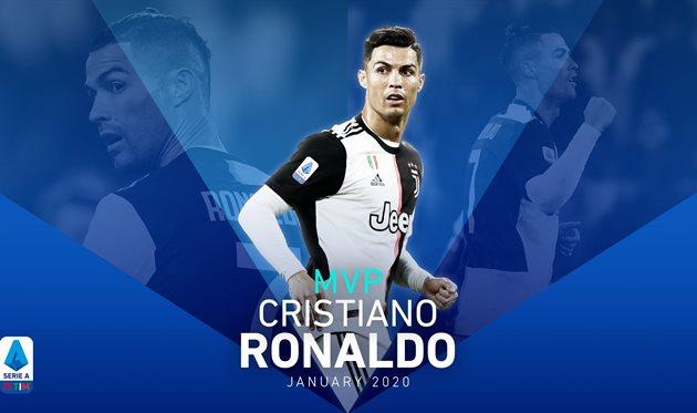 Роналду — MVP Серии А в январе