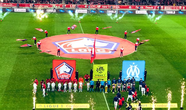 Лилль - Марсель, photo LOSC Lille