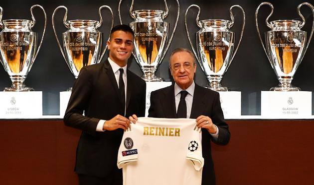 Рейнир (слева), Фото: Реал Мадрид