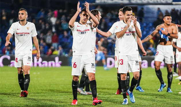 Севилья празднует победу, Sevilla Fútbol Club