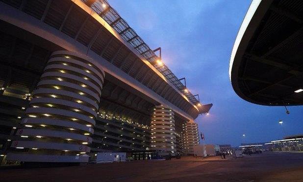 Стадио Джузеппе Меацца, фото ФК Интер