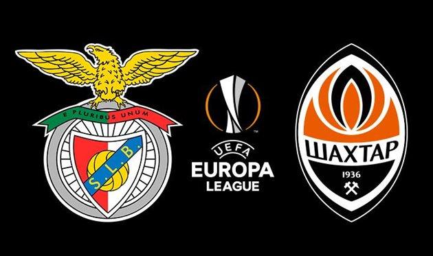 Бенфика — Шахтер: онлайн-трансляция матча Лиги Европы