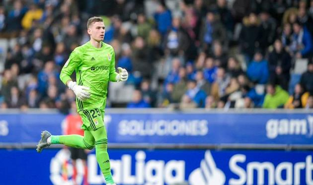 Андрей Лунин, photo: Real Oviedo