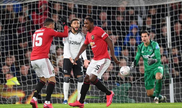 Дерби Каунти - Манчестер Юнайтед, Getty Images