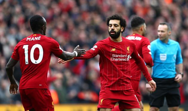 Ливерпуль празднует победу, Getty Images
