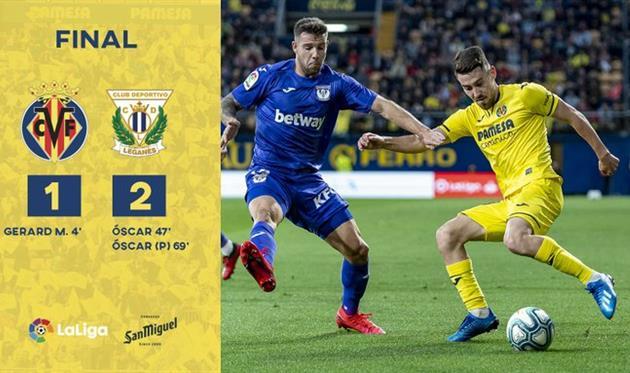 Вильярреал — Леганес, twitter.com/VillarrealCF