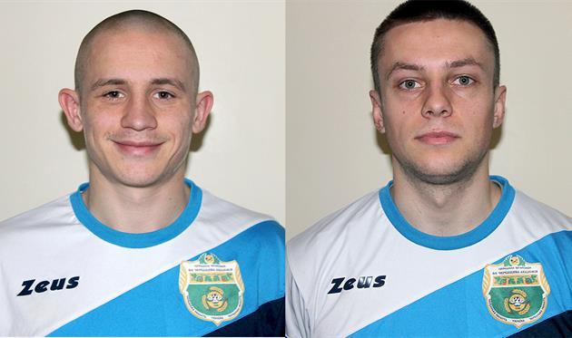 Коваленко и Рожков, фото: ФК Черкащина