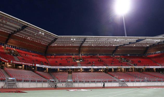Стадион в Нюрнберге, dfb.de