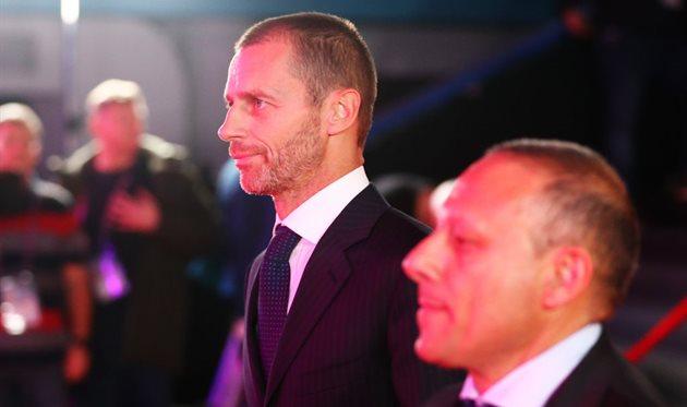 Президент УЕФА Александер Чеферин, Getty Images