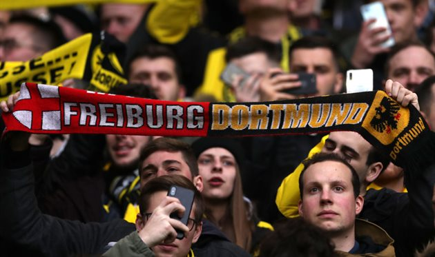 Болельщики Боруссии, Getty Images