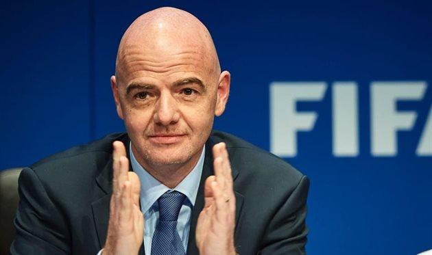 Джанни Инфантино, фото ФИФА