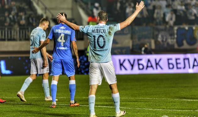 Команда Милевского готовится к субботнему матчу чемпионата, фото ФК Динамо-Брест