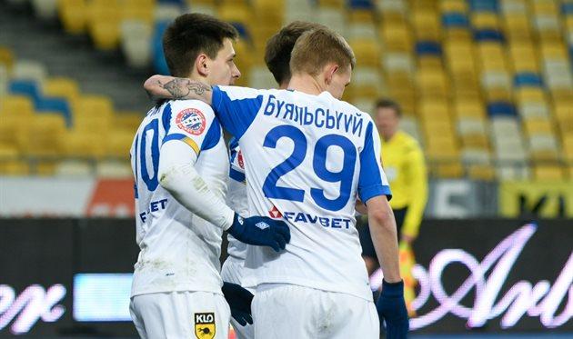 Назарий Русин и Виталий Буяльский, фото ФК Динамо