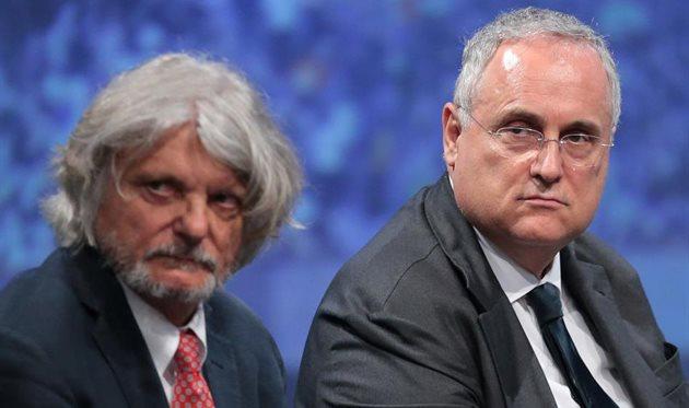 Массимо Ферреро и Клаудио Лотито, Getty Images