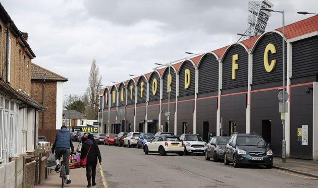 Стадион Уотфорда, getty images