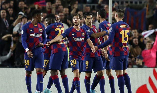 Футболисты Барселоны, Getty Images