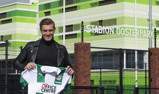 Вессел Даммерс, фото ФК Гронинген