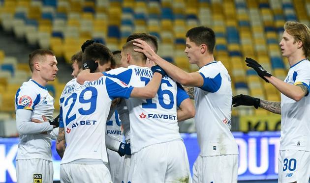 Игроки киевского Динамо, Getty Images