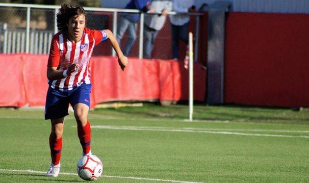 Хавьер Серрано, фото Атлетико