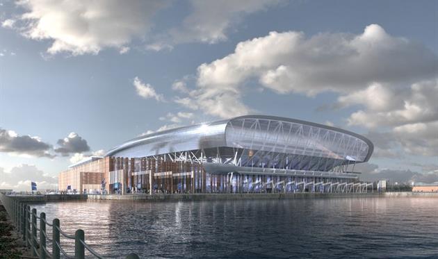 Концепт нового стадиона Эвертона, Liverpool Echo