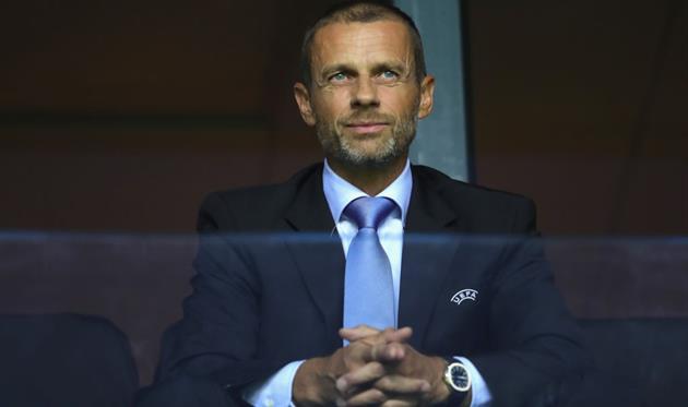 Глава УЕФА Александер Чеферин, Getty Images