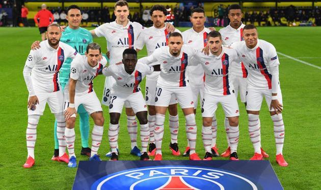 Футболисты ПСЖ, Getty Images