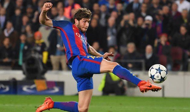 Победный гол Роберто в ворота ПСЖ, 2017 год, Getty Images