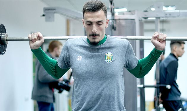 Андро Гиоргадзе, фото ФК Карпаты