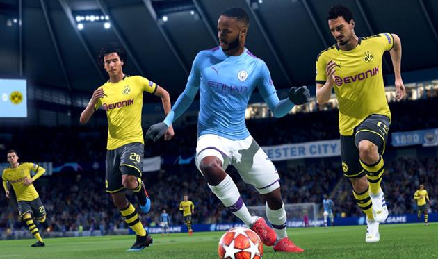 Турнир Football.ua FIFA20 PS4 CUP: плей-офф Лиги чемпионов