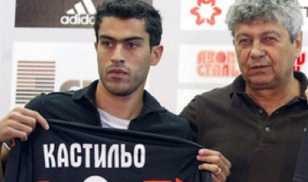 Мирча Луческу и Нери Кастильо, ФК Шахтер