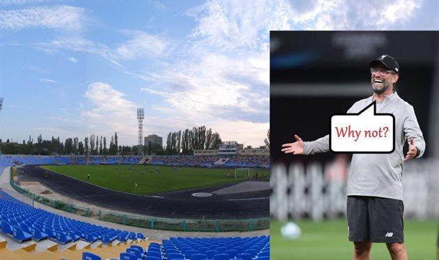 Центральный стадион Николаева и Юрген Клопп, Football.ua