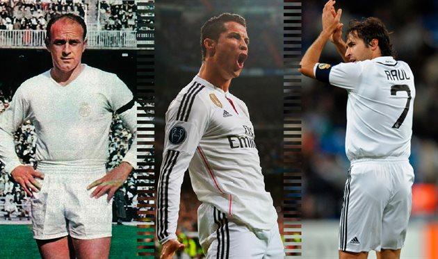 Лучшие в истории: нападающие Реала