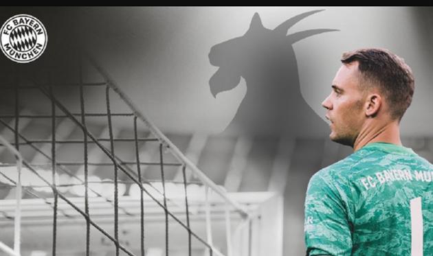 Мануэль Нойер, фото ФК Бавария