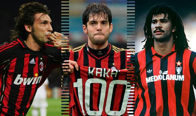 Лучшие в истории: полузащитники Милана