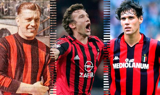 Лучшие в истории: нападающие Милана