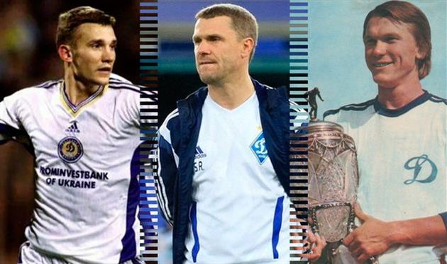 Лучшие в истории: нападающие Динамо Киев