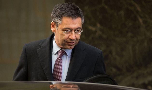Президент Барселоны Жозеп Бартомеу, Getty Images