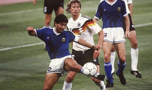 Диего Марадона и Гвидо Бухвальд, Getty Images