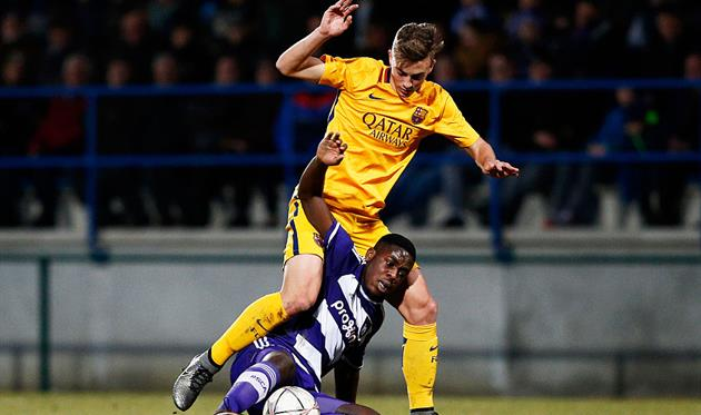 Ориоль Бускетс (в желтом), Getty Images