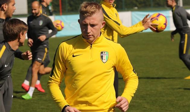Владислав Кулач, фото ФК Александрия