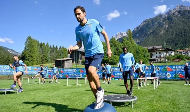 Тренировка Лацио, Getty Images